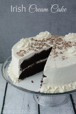 Irish Cream Cake sm