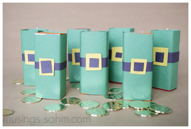 Leprechaun Juice Boxes Craft