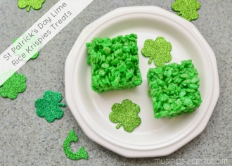St Patrick's Rice Krispies Treats sm