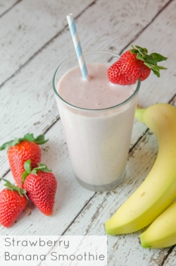 Strawberry Banana Smoothie-sm