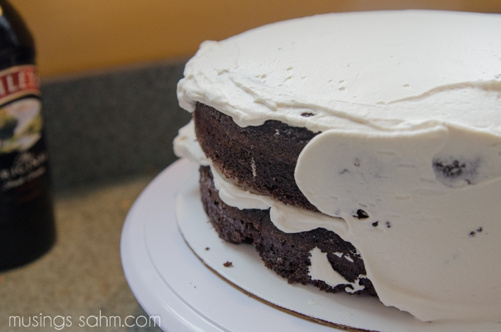 frosting whipped cream cake