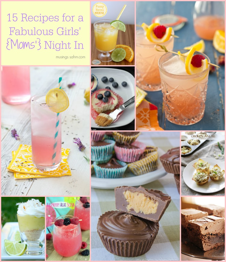 15 Recipes for a Girls' Night In