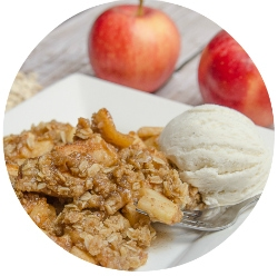 Homemade Apple-Crisp