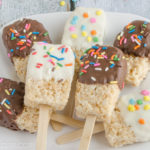Rice Krispies Popsicle Treats #EasyToMake
