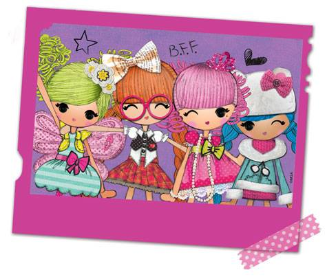 Lalaloopsy Girls Art