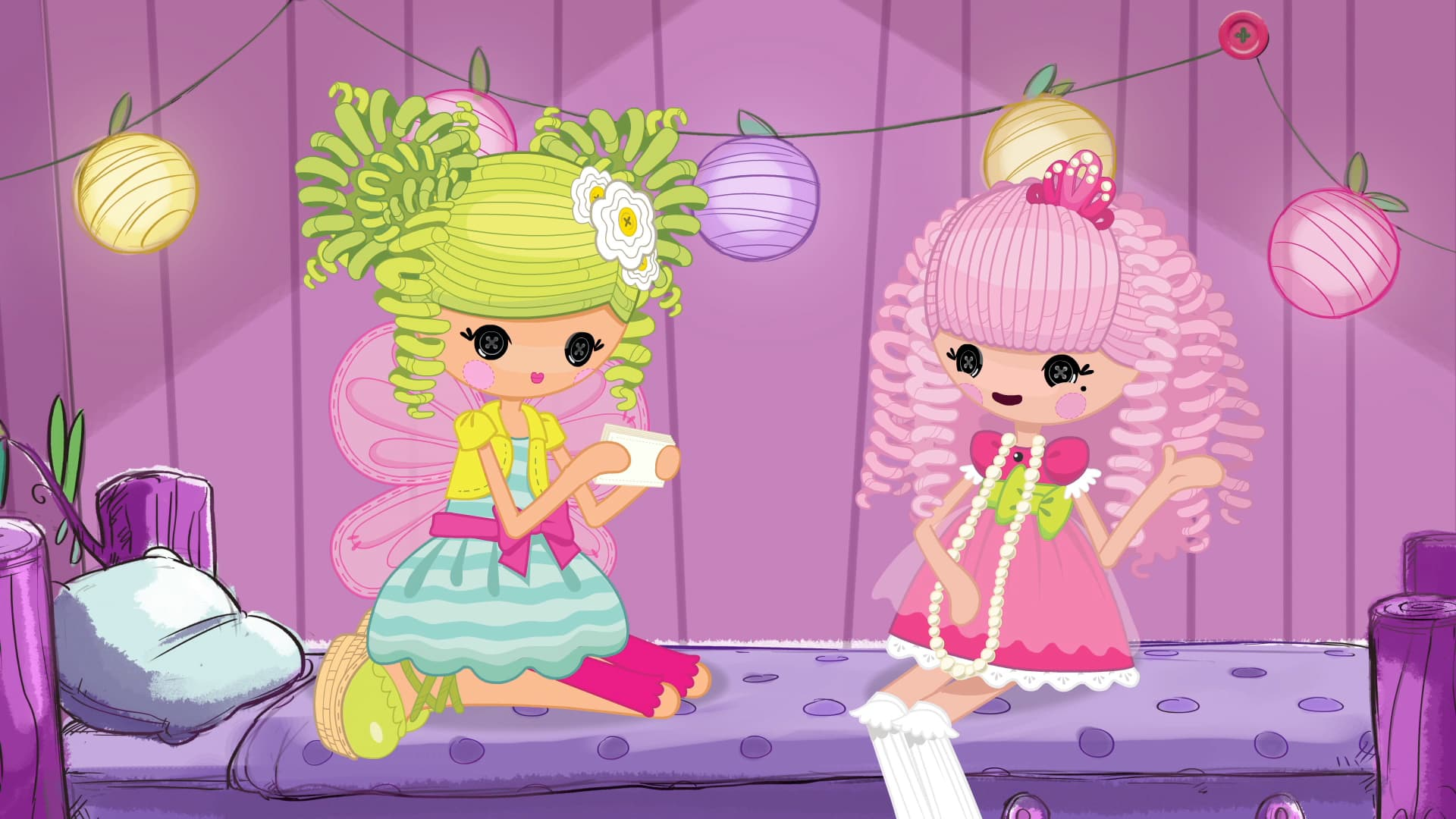 Lalaloopsy Girls School