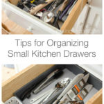 Tips for Organizing Small Kitchen Drawers