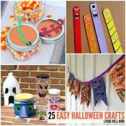 25 Super Spooky Easy-to-Make Halloween Crafts for Kids