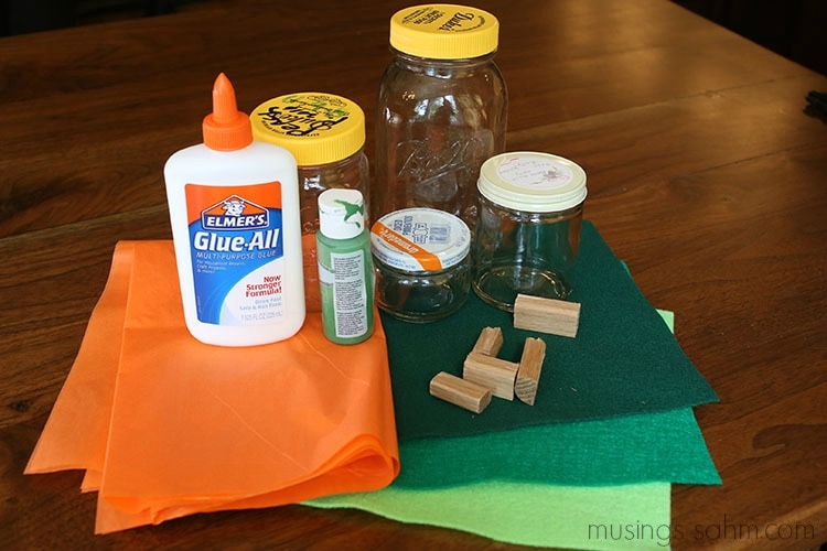 DIY pumpkin supplies