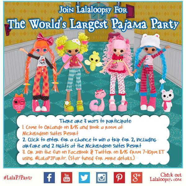 Lalaloopsy Pajama Party