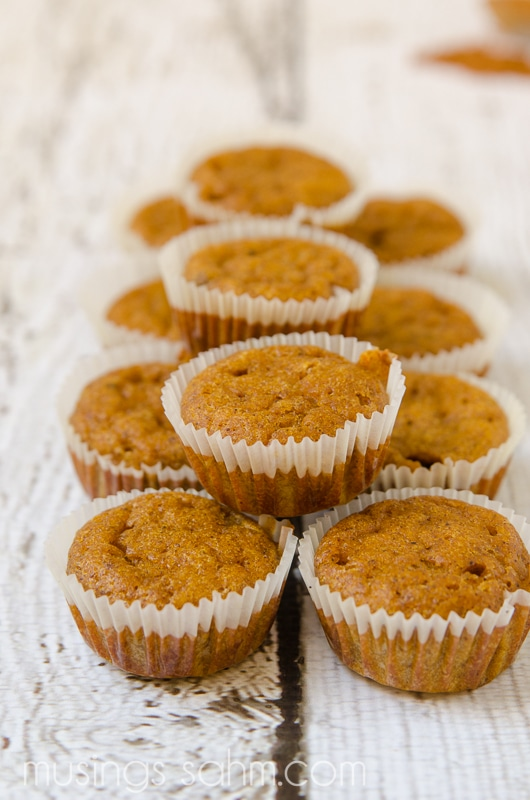 Gluten Free Pumpkin Streusel Muffins are perfectly spiced, naturally sweetened, and an easy to make snack for the whole family, including the kids. You'll never guess this delicious recipe is gluten free!