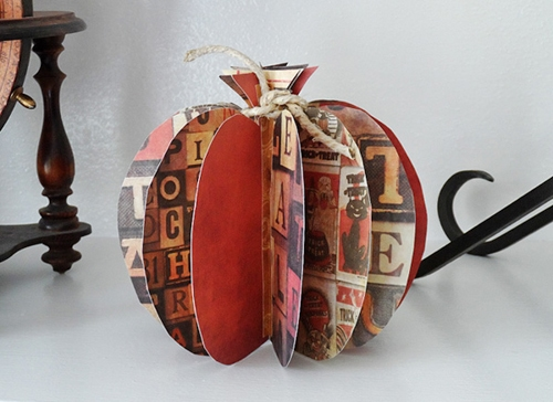 3d-paper-pumpkin