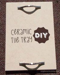 DIY Ceramic Tray {Homemade Gift Idea}