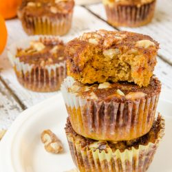 I didn't believe these delicious Pumpkin Streusel Muffins were gluten-free when I first tried them- they are so good! I love how they're naturally sweetened and easy to make too. My whole family, including the kids, love this recipe!