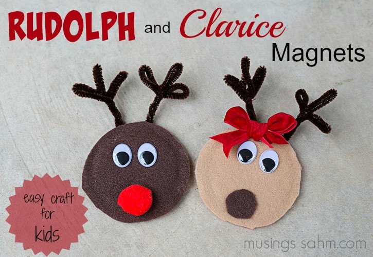 Christmas craft for kids that would also make a great homemade gift