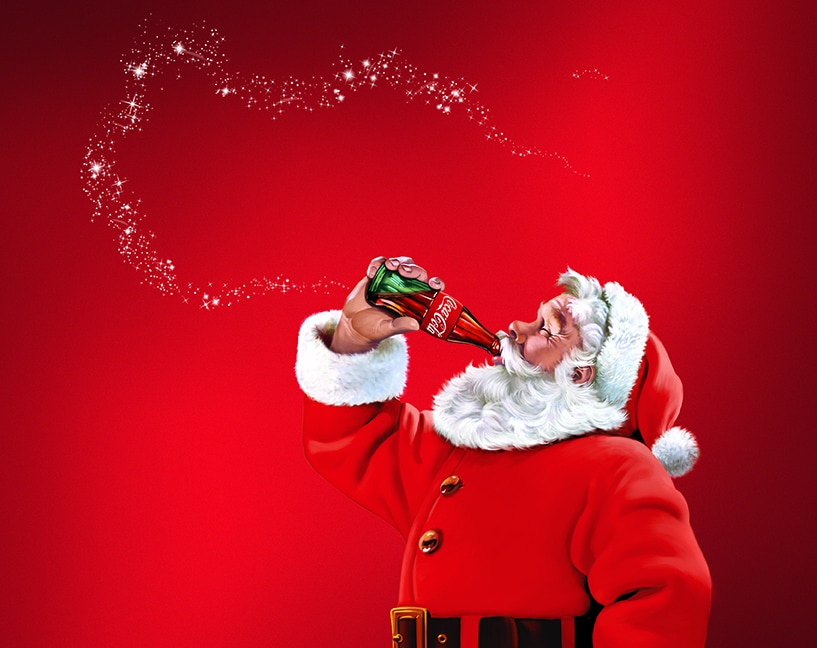 Santa Claus Coca Cola Wallpaper