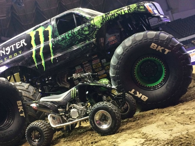 MonsterJam energy
