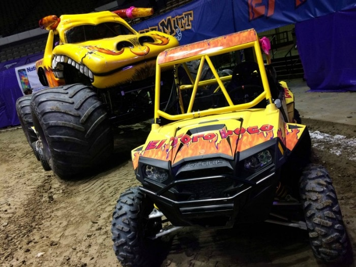 MonsterJam yellow