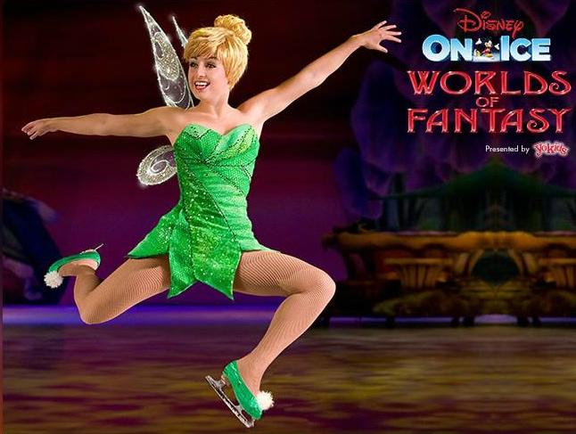 Disney On Ice World of Fantasy Tinkerbell