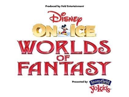 Disney On Ice World of Fantasy logo