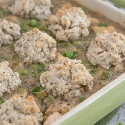 Easy Chicken and Dumplings Casserole