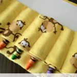 Crayon Roll Tutorial {Plus a Paper Pocket!}