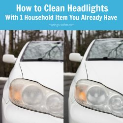 How to Clean Headlights with a Common Household Item You Already Have