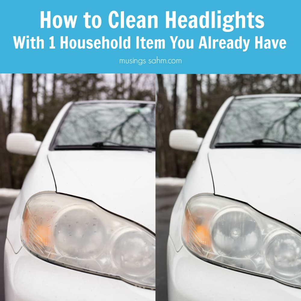 How To Clean Headlights With A Common Household Item You Already