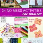 24 No-Mess Toddler Activities
