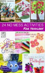 24 No-Mess Toddler Activities