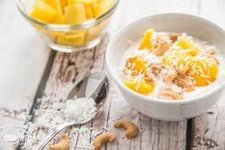 Coconut Mango Yogurt Delight
