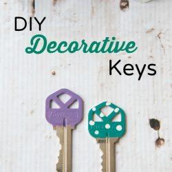 DIY Decorative Keys
