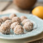 Raw Lemon Coconut Macaroons