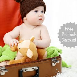 11 Tips for Traveling with Baby {Plus a Free Printable Checklist}