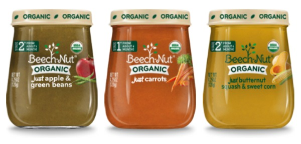 Beech-Nut Organic baby food