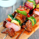 Ginger Sesame Steak Kabobs