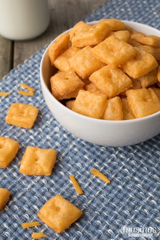 Homemade Cheese Crackers are surprisingly simple to make. The first ...