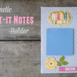 Magnetic Post-it Notes Holder