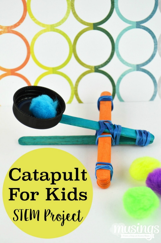 Catapult for Kids STEM Project - Living Well Mom