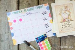 Summer Reading Program for Kids {Free Printable}