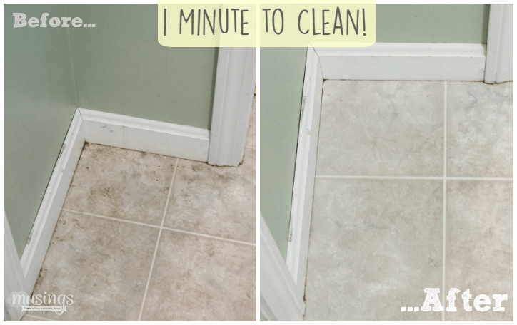 Simple Tips For Cleaning Your House Fast - Easiest way to mop tile floors