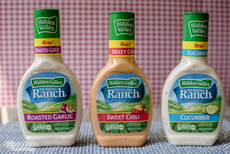 Hidden Valley Ranch flavors