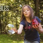 Homemade Bubbles + DIY Bubble Wands