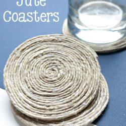 DIY Jute Coasters