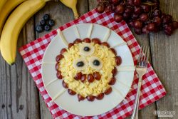 Scrambled Eggs & Cheese Monster for Kids