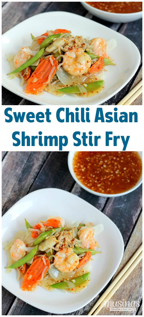 Sweet Chili Asian Shrimp Stir Fry Recipe - Musings From a ...