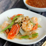 Sweet Chili Asian Shrimp Stir Fry Recipe