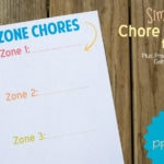 Practical Ideas for Getting Kids to Do Chores + A Chore Chart