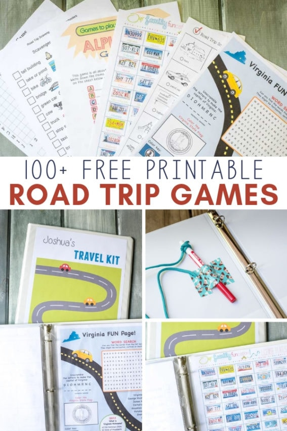 free printable road trip games for kids
