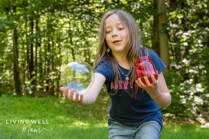 strong homemade bubbles